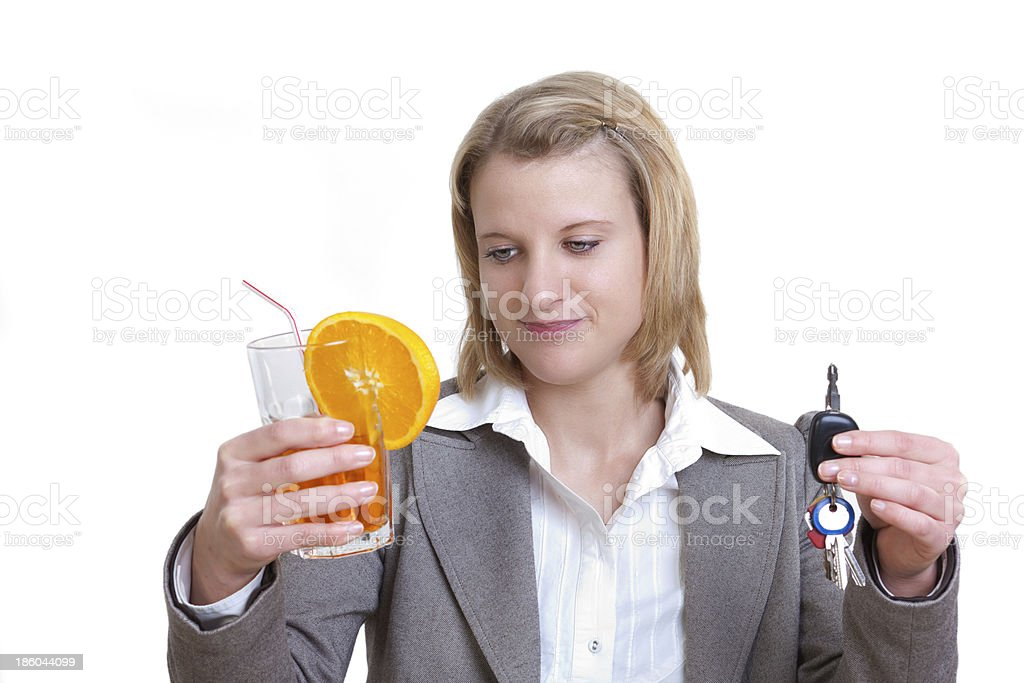 No drinking and driving stock photo