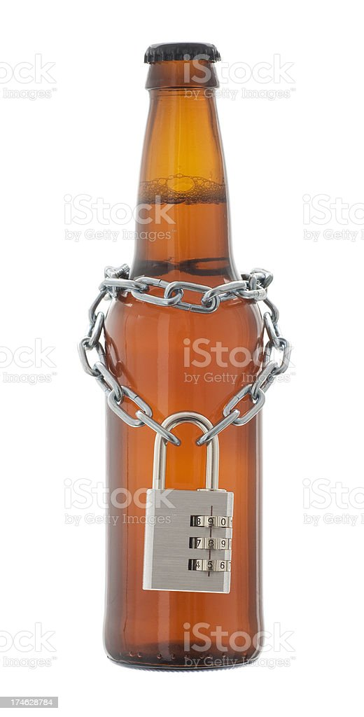 No Drinking royalty-free stock photo