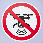 No drone camera Sign
