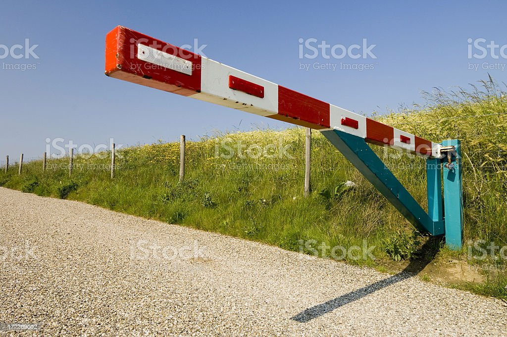 No Entry royalty-free stock photo