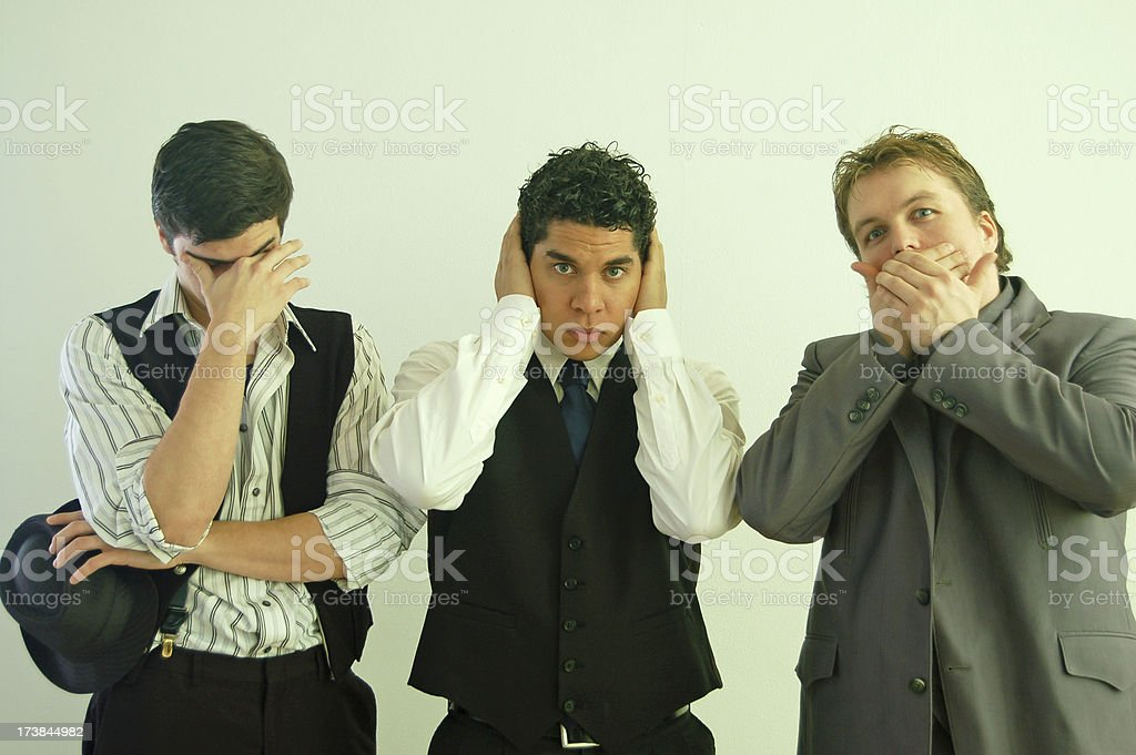 No Evil Monkies stock photo