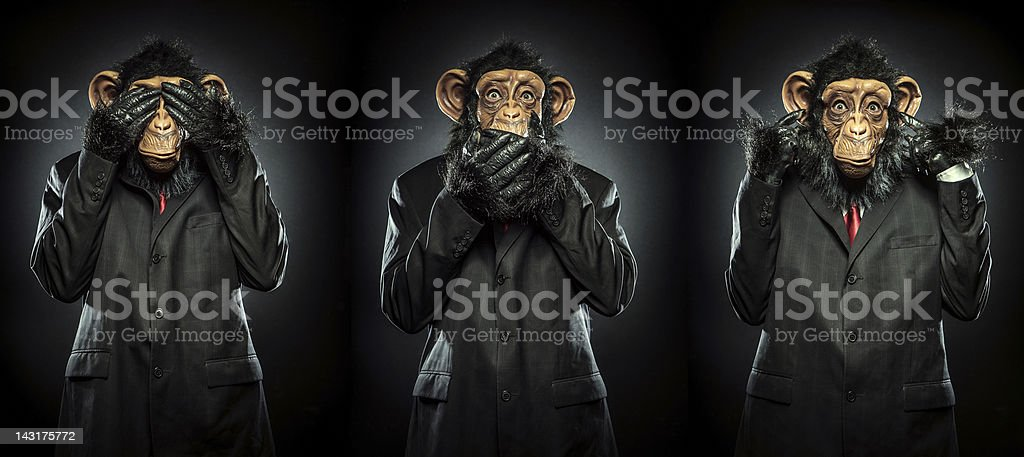 No Evil stock photo