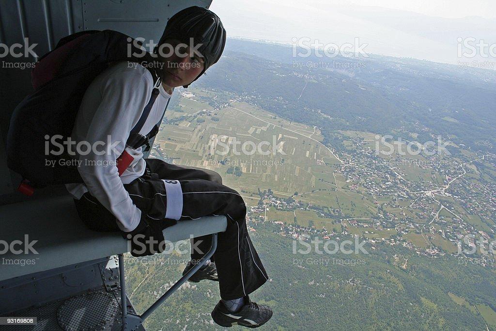 No fear royalty-free stock photo