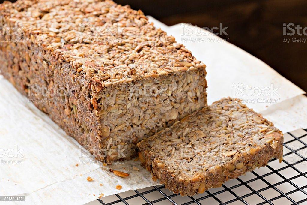 No Flour Seed Bread stock photo