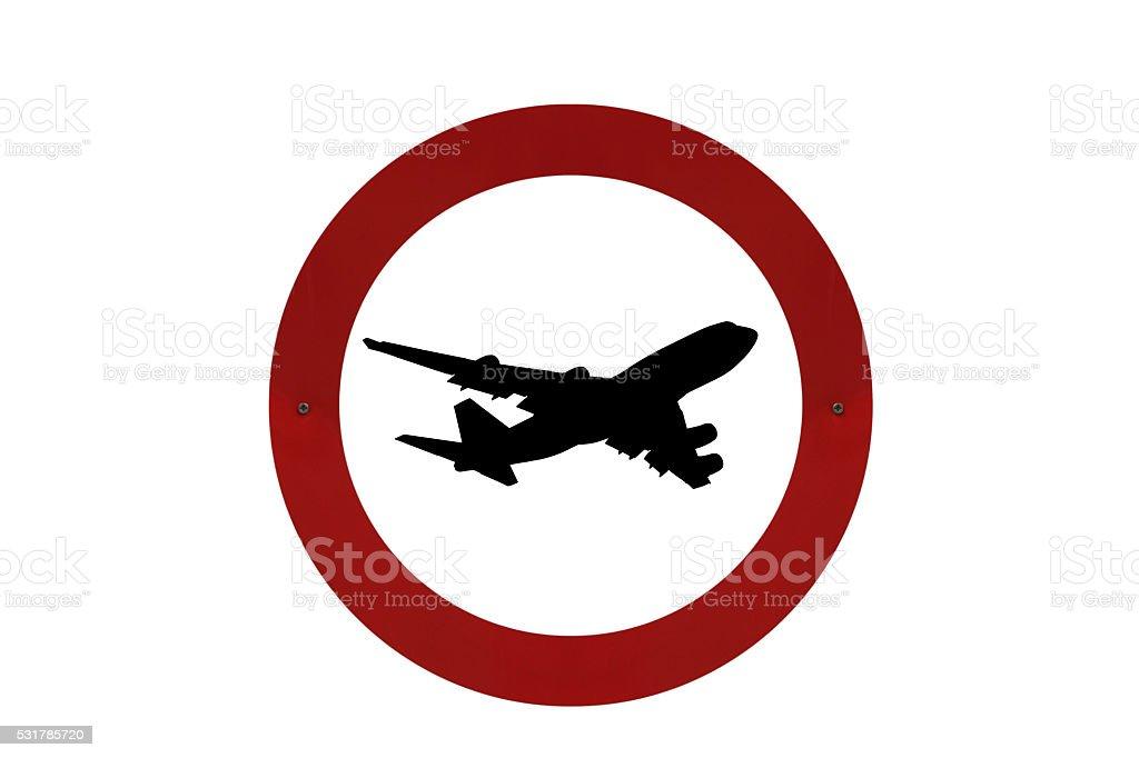 No flyover noise please stock photo