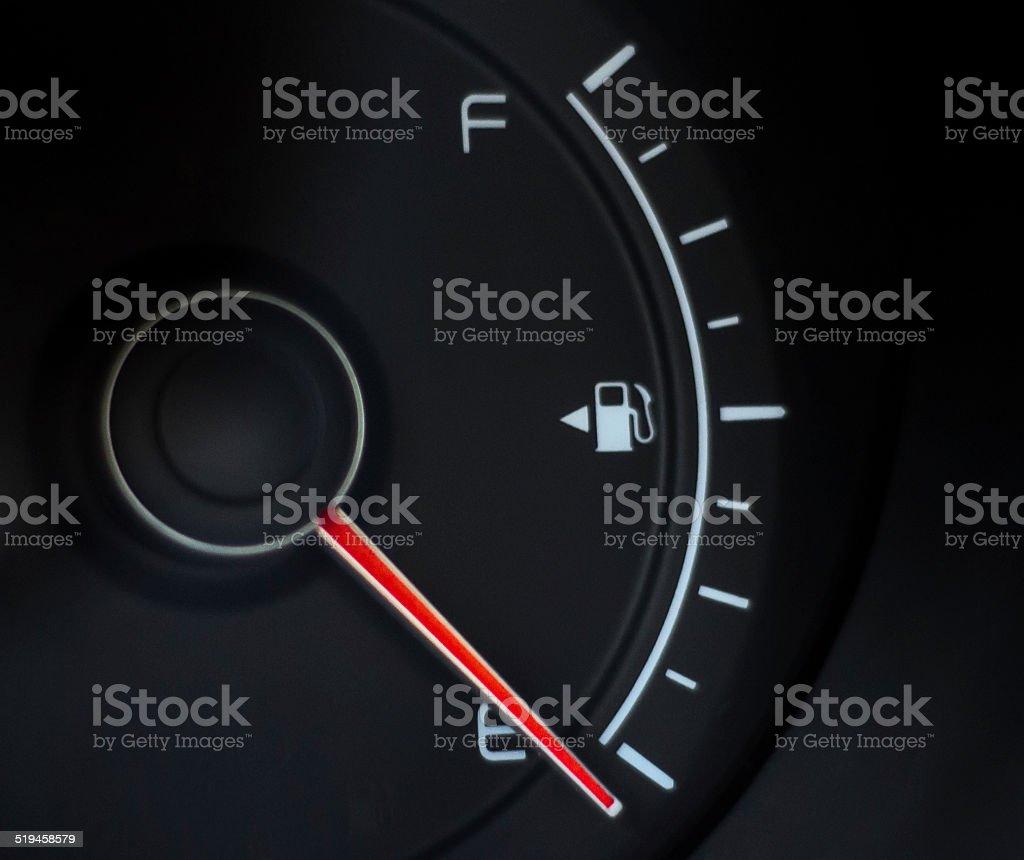 no fuel detector stock photo