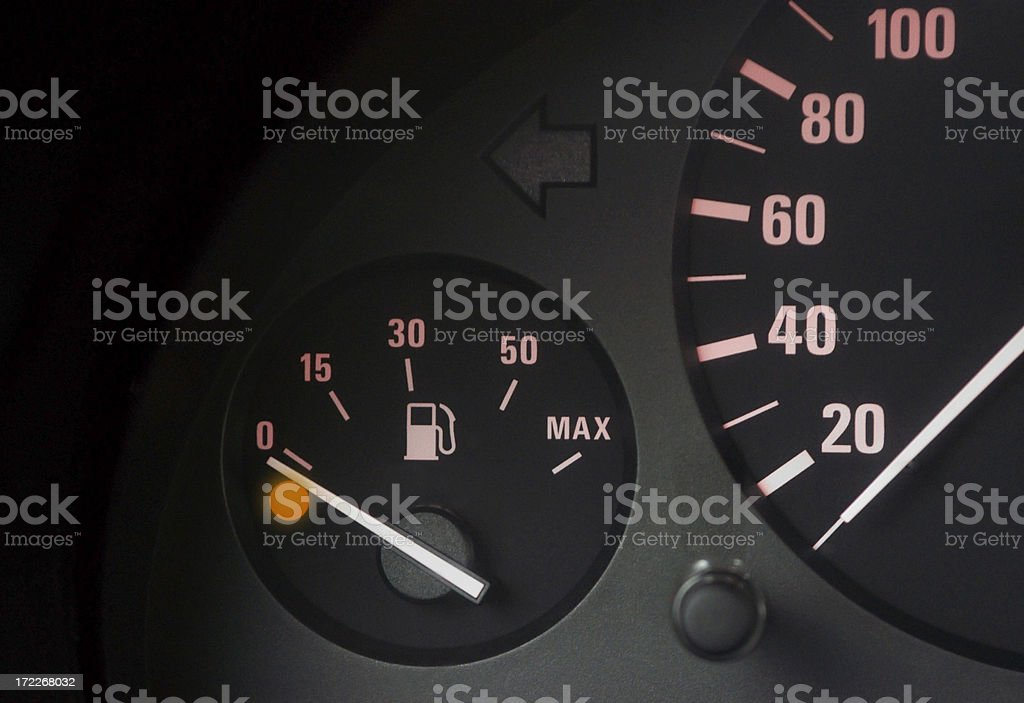 No fuel stock photo