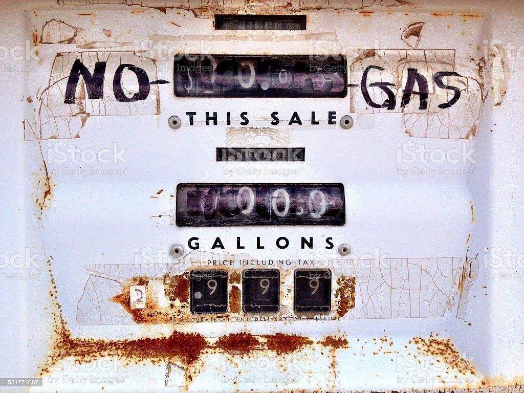 No Gas stock photo