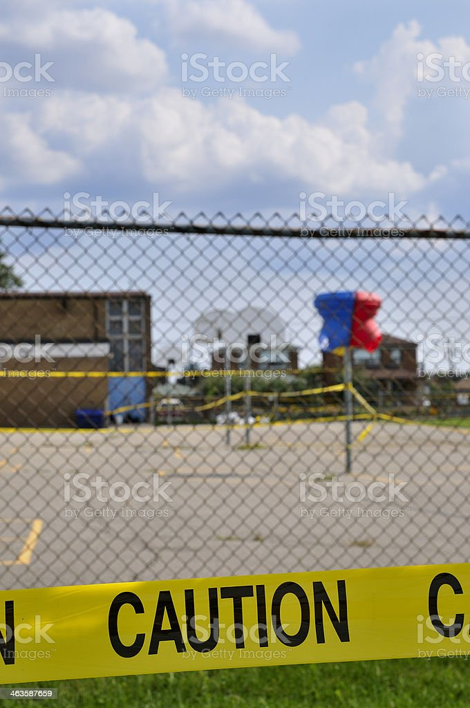 No go school zone royalty-free stock photo