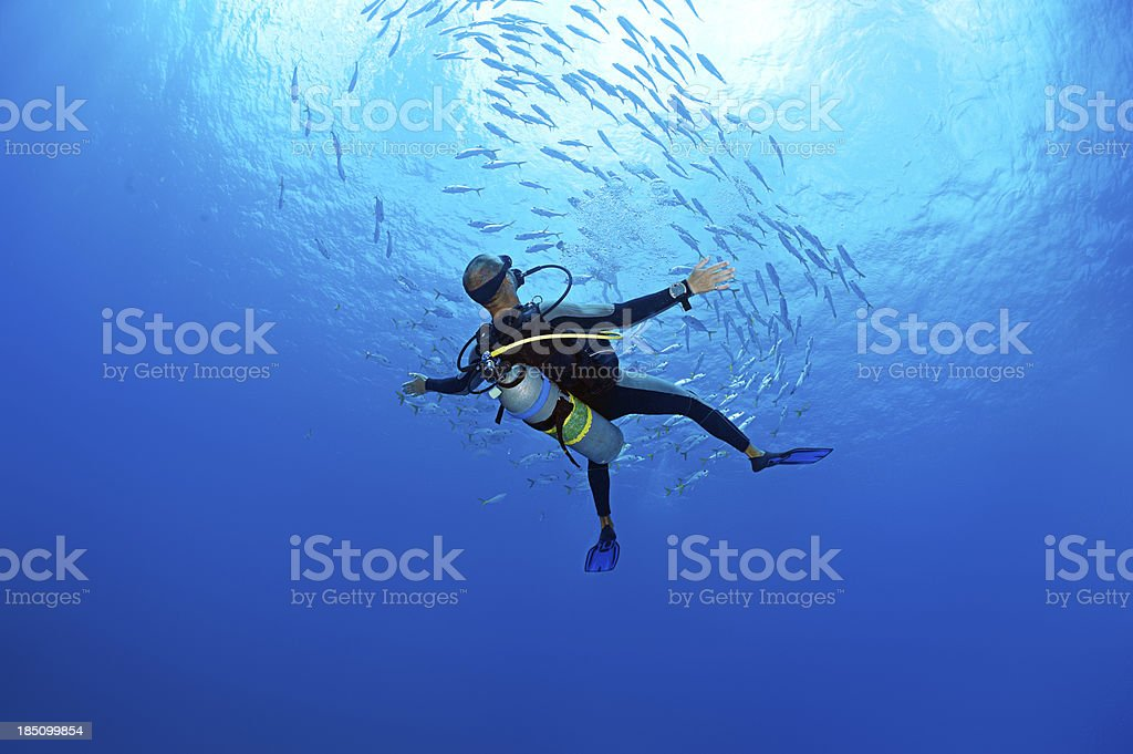 No Gravity royalty-free stock photo