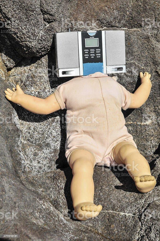 No Head Doll royalty-free stock photo