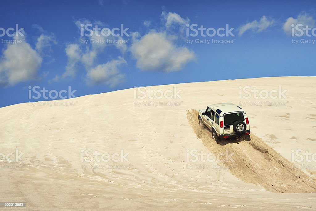 No hill is too steep stock photo
