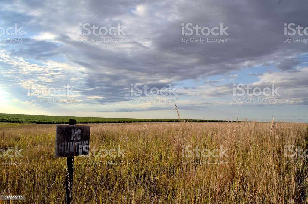 No hunting stock photo