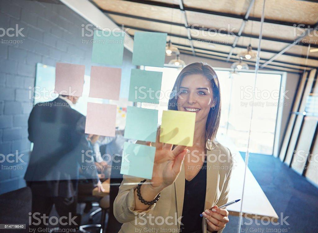 No imitation, just innovation stock photo