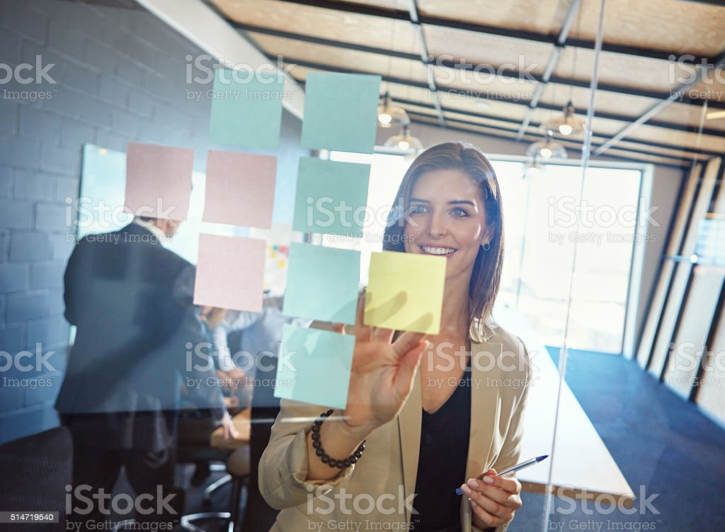 No imitation, just innovation stock photo