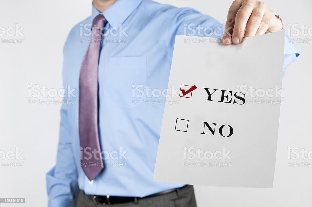 No is not the option stock photo