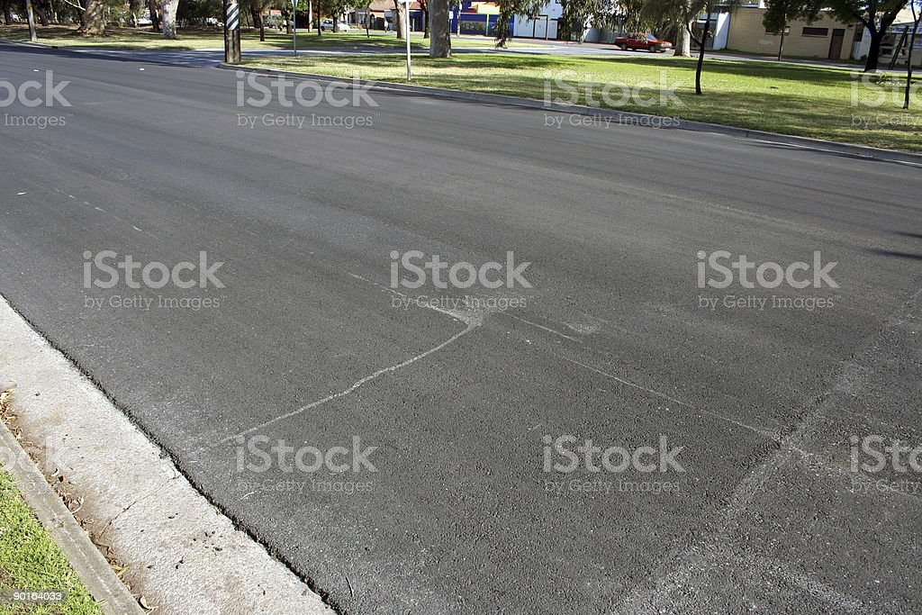 No lanes marked royalty-free stock photo