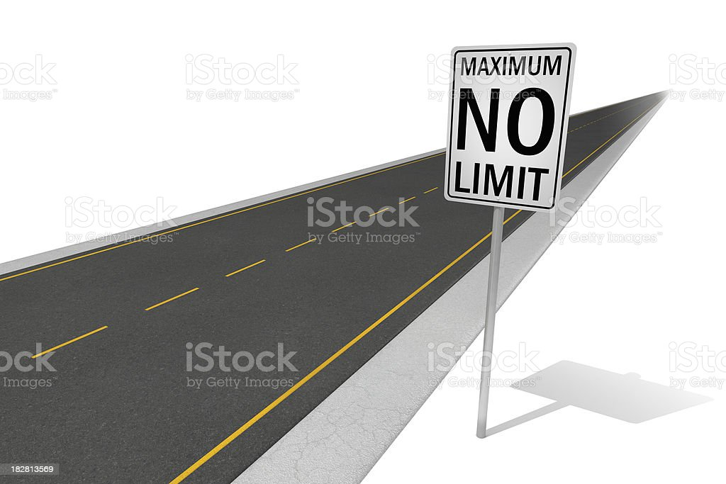 No Limit royalty-free stock photo