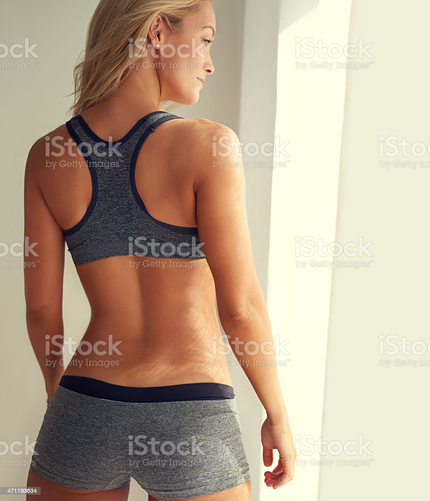No looking back stock photo