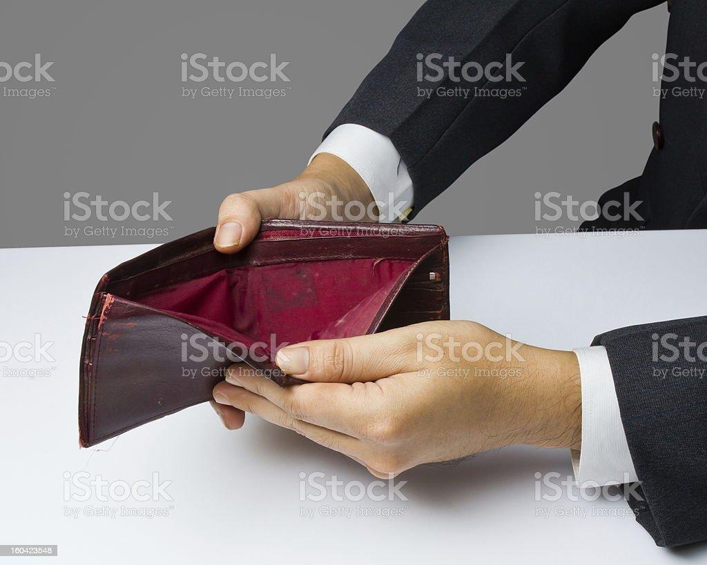 No money royalty-free stock photo