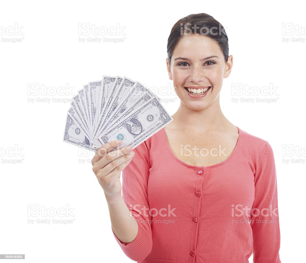 No money problems for me royalty-free stock photo