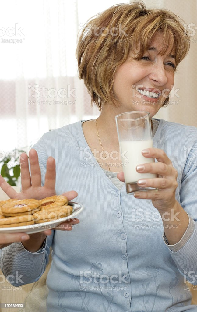 No more biscuit royalty-free stock photo