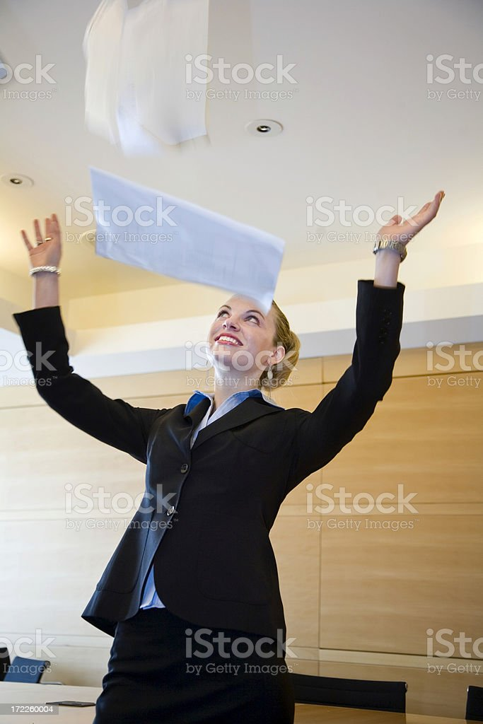 No More Paperwork. royalty-free stock photo