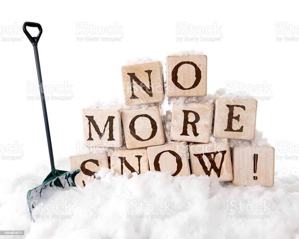 No More Snow stock photo 465964870