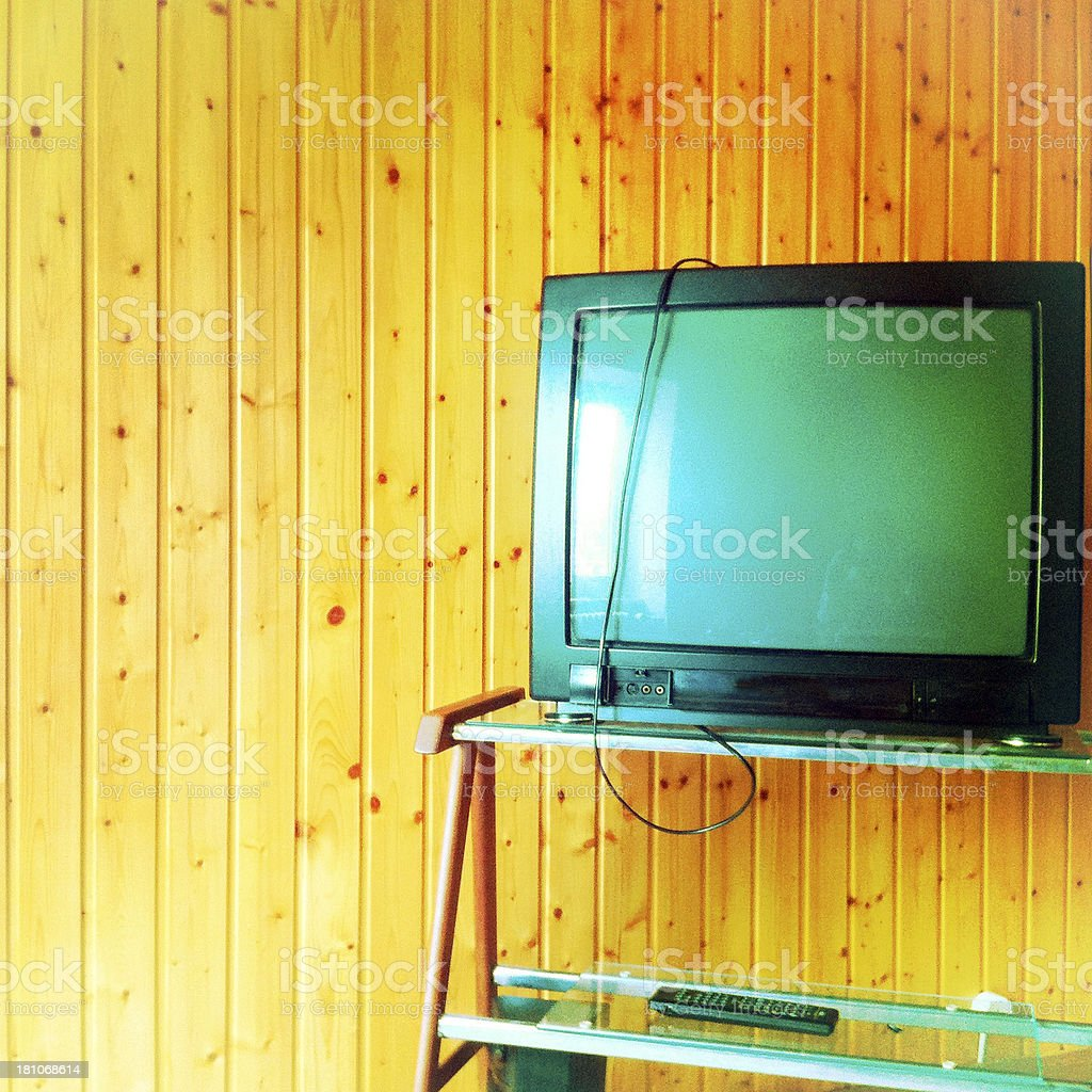 No more TV royalty-free stock photo