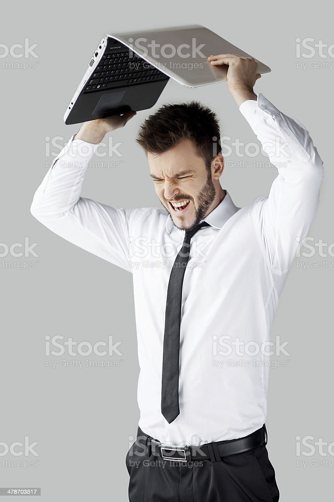 No more working! stock photo