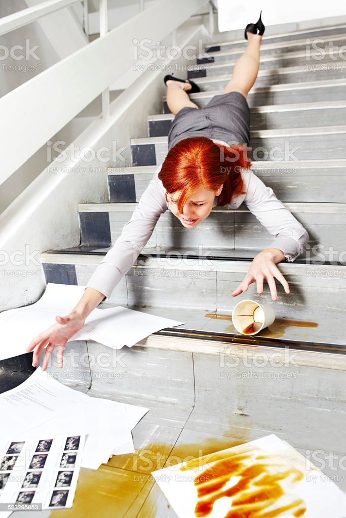 No, not my paperwork! stock photo