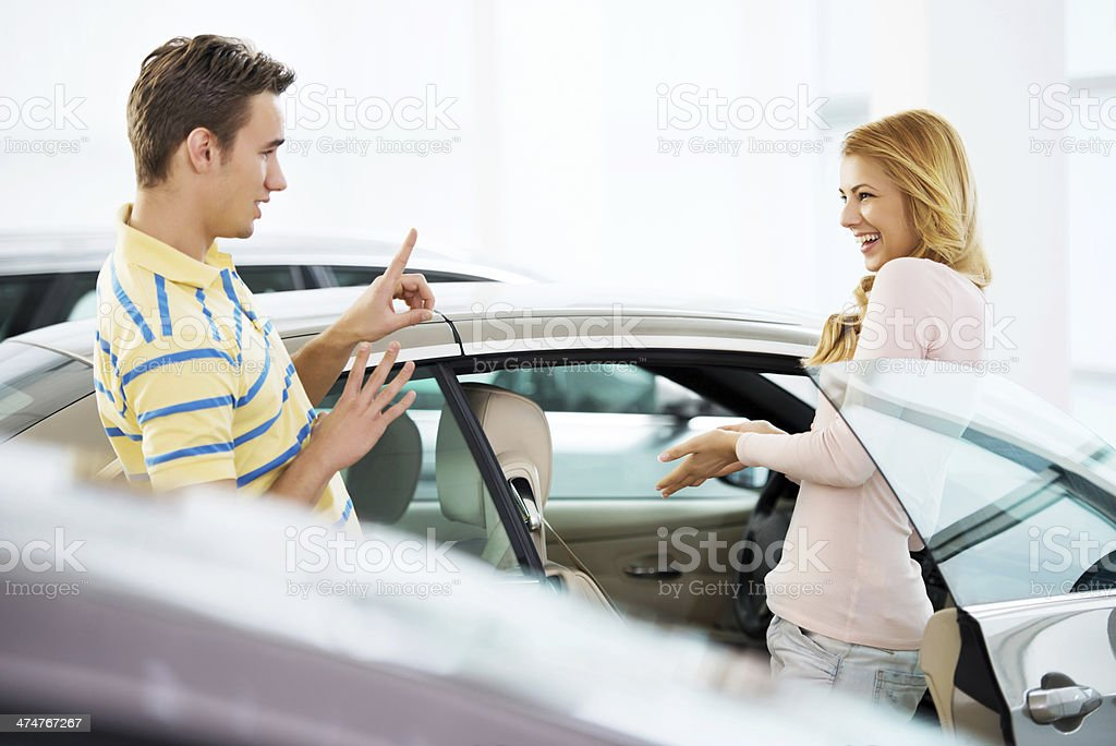 No, not that car! royalty-free stock photo
