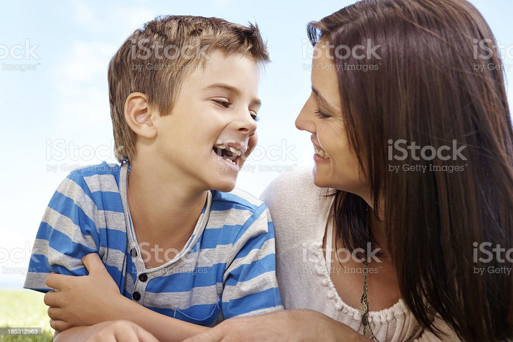No one makes me smile like you royalty-free stock photo