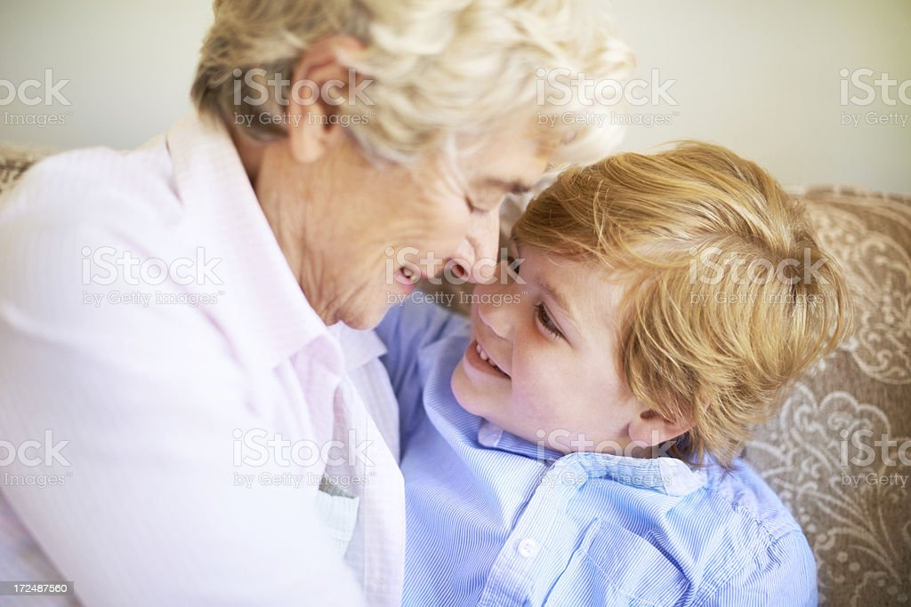 No one's better than my gran royalty-free stock photo