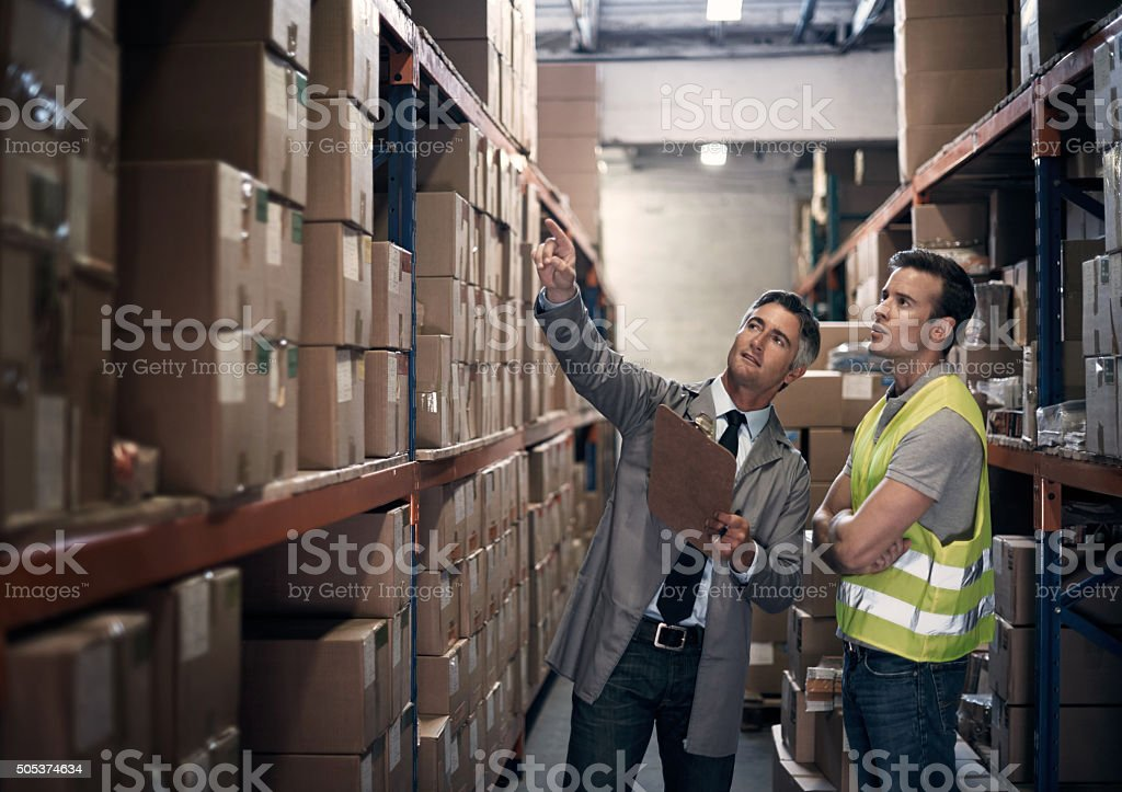 No order goes uncounted stock photo