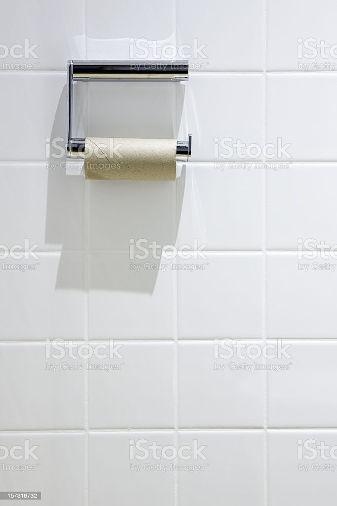 No paper in Toilet royalty-free stock photo