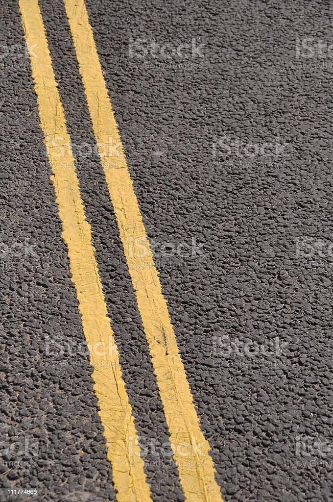 No parking lines royalty-free stock photo