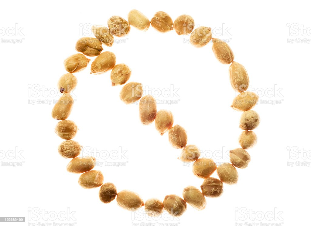 No peanuts please stock photo