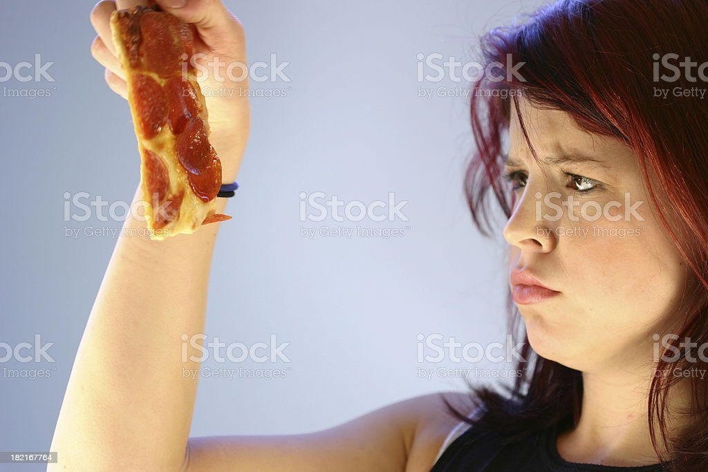 No Pizza Please royalty-free stock photo