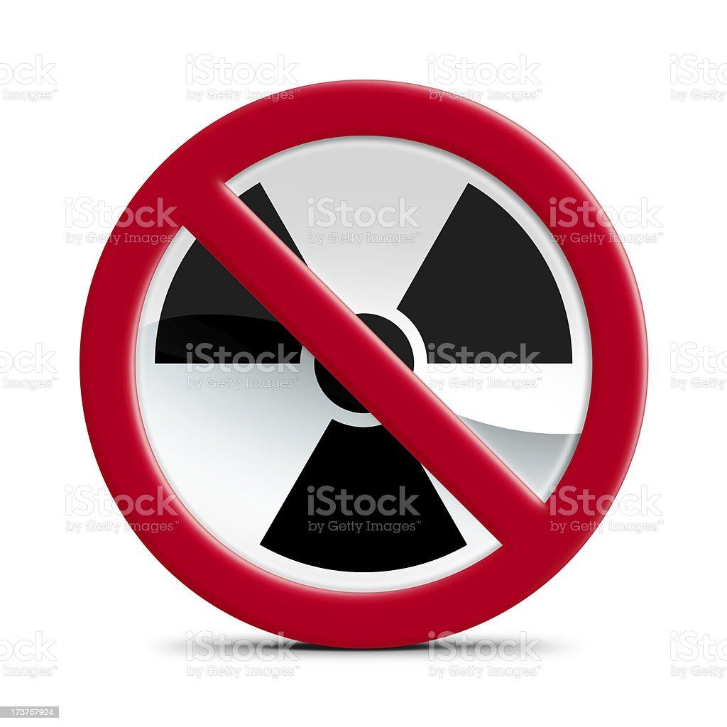 No radiation equipment stock photo