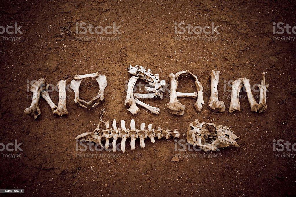 No Rain stock photo