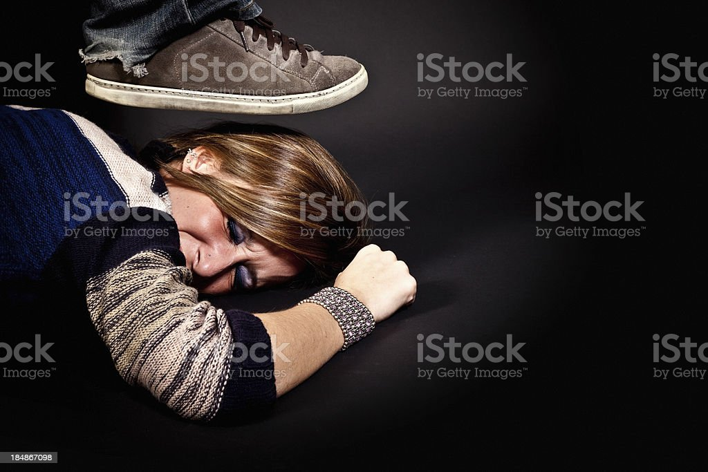 No Respect stock photo