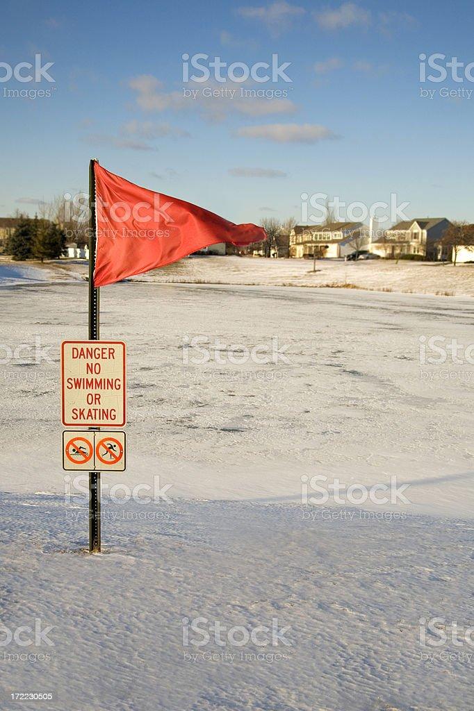 No Skating or swimming stock photo