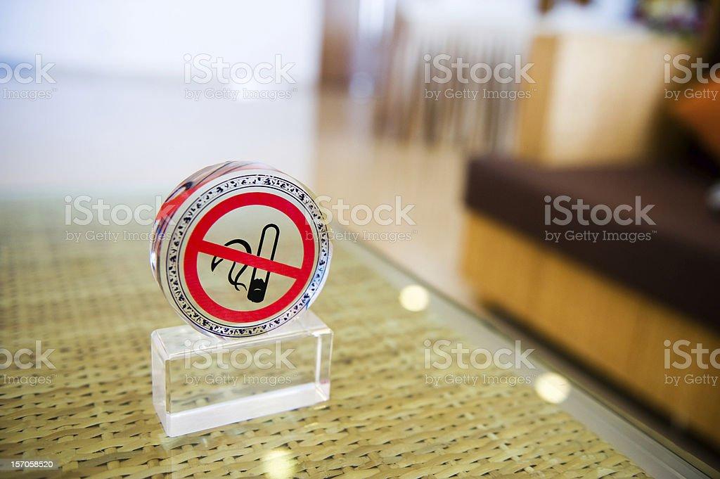 no smokiing stock photo