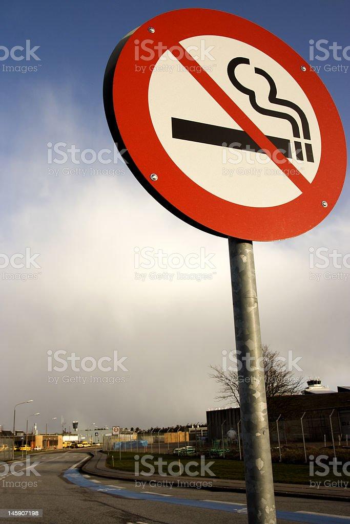 no smoking area stock photo