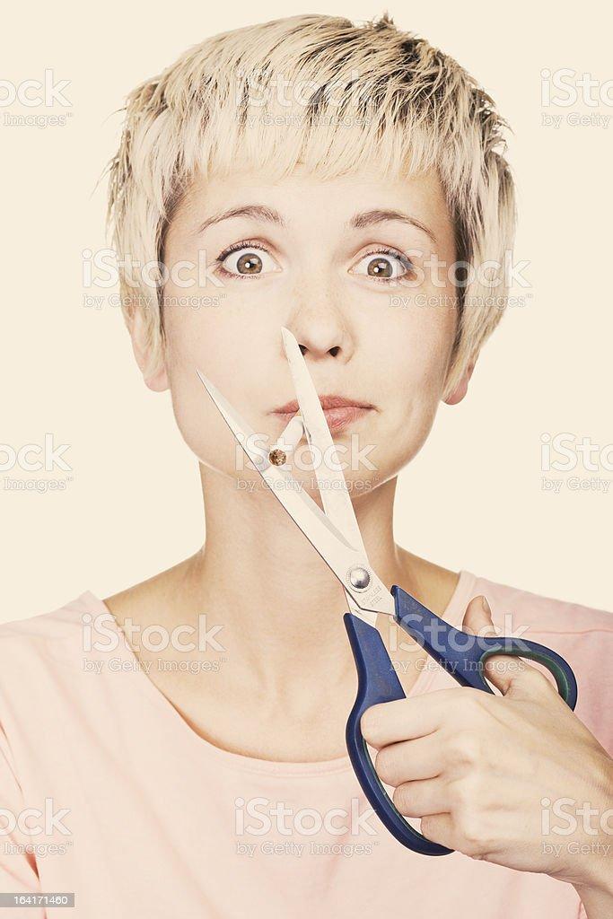No smoking concept. royalty-free stock photo