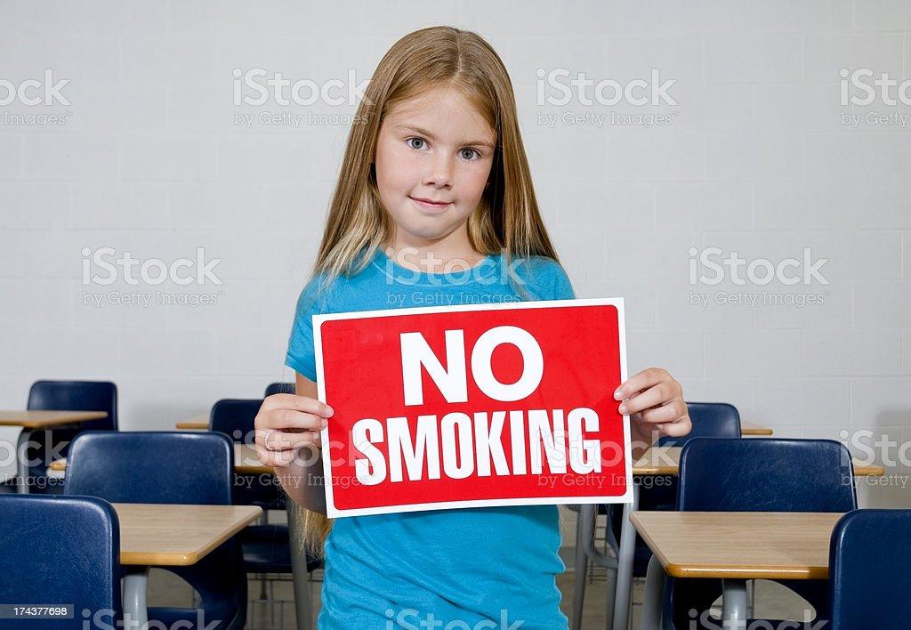 No Smoking, Health Education Concept royalty-free stock photo