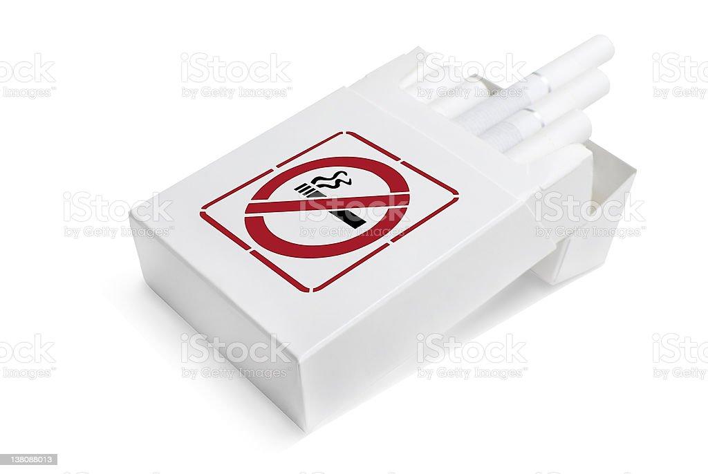 No smoking | Isolated royalty-free stock photo
