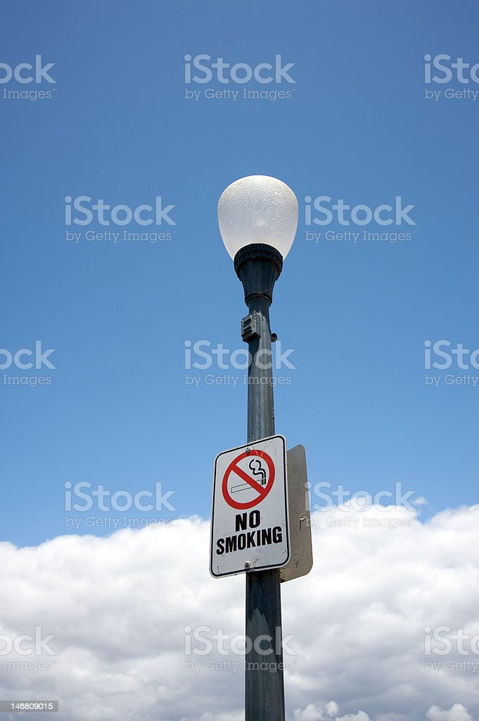 No smoking royalty-free stock photo