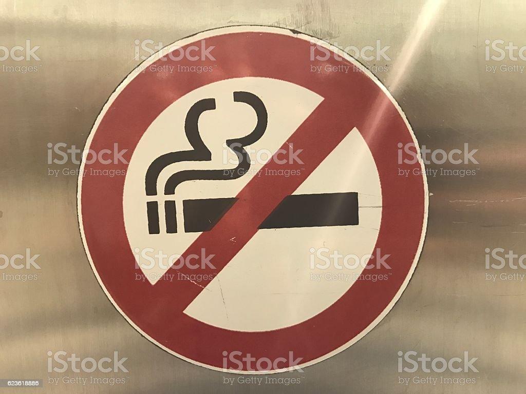 Keine Nichtraucher  Lizenzfreies stock-foto